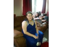 Lovely Blue prom dress size 20 quiz