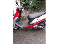 Peugeot v clic 49cc moped