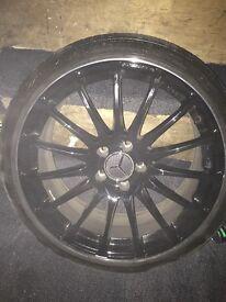 19 inch Mercedes alloys