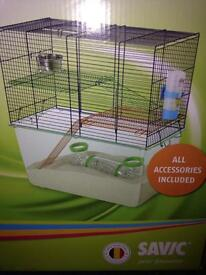 Hamster cage with everything
