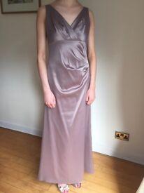 Satin Prom Dress/Bridesmaid dress
