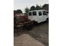 Ldv crew cab 04 reg. Harvey frost. Project