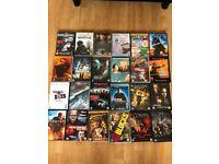 DVD Bundle - 50 DVDs