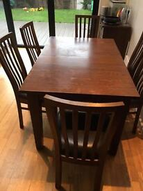 Dining Table, 8 chairs and 2 Side Boards