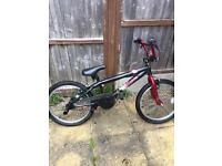 BMX - red and black