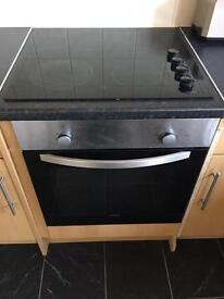 Built in oven and hob