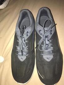 Puma Ignite black/grey trainers, men's size 10