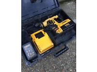 DEWALT DCH363 36v SDS plus drill