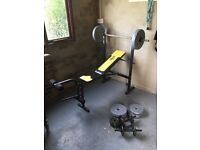 Lonsdale weight bench