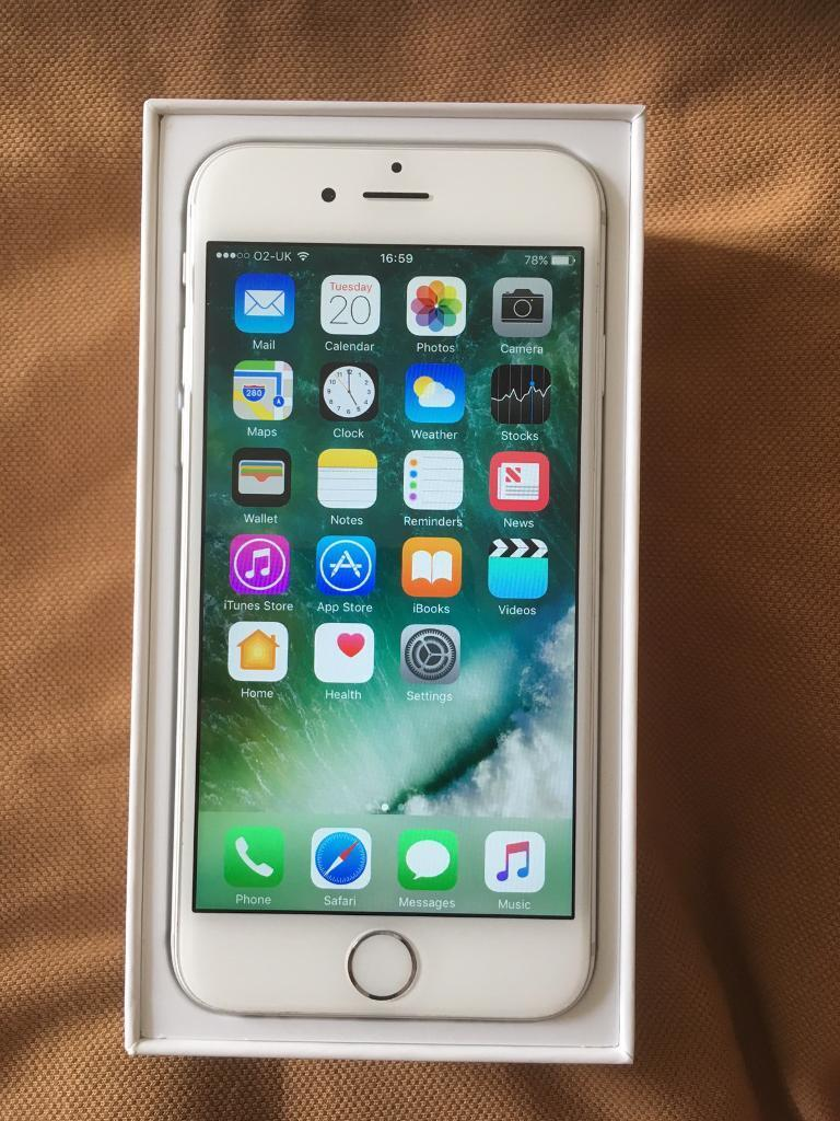 iPhone 6 02Giffgaff silver 16GB Excellent conditionin Luton, BedfordshireGumtree - iPhone 6 02 Network 16GB Silver in very good condition,iPhone 6 box (not original )With charger Fully working Can deliver £225
