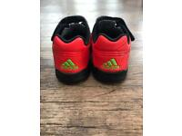 Kids Adidas football boots (astros) size uk 7 infant