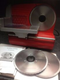 meat slicer with 3 blades