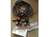 Oxy acetylene welding gear