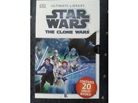 Star Wars The Clone Wars 10 x book box set DK Reader Collection Level 1 / 2