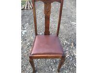 Single Mahogany Chair. Great condition