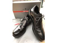 Men's PRADA shoes - Black, UK size 7