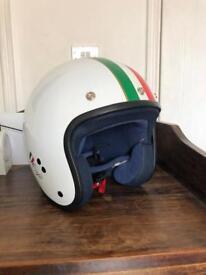 Open face helmet size small