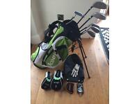 R3 Jaxx Junior Golf Set and Trolley