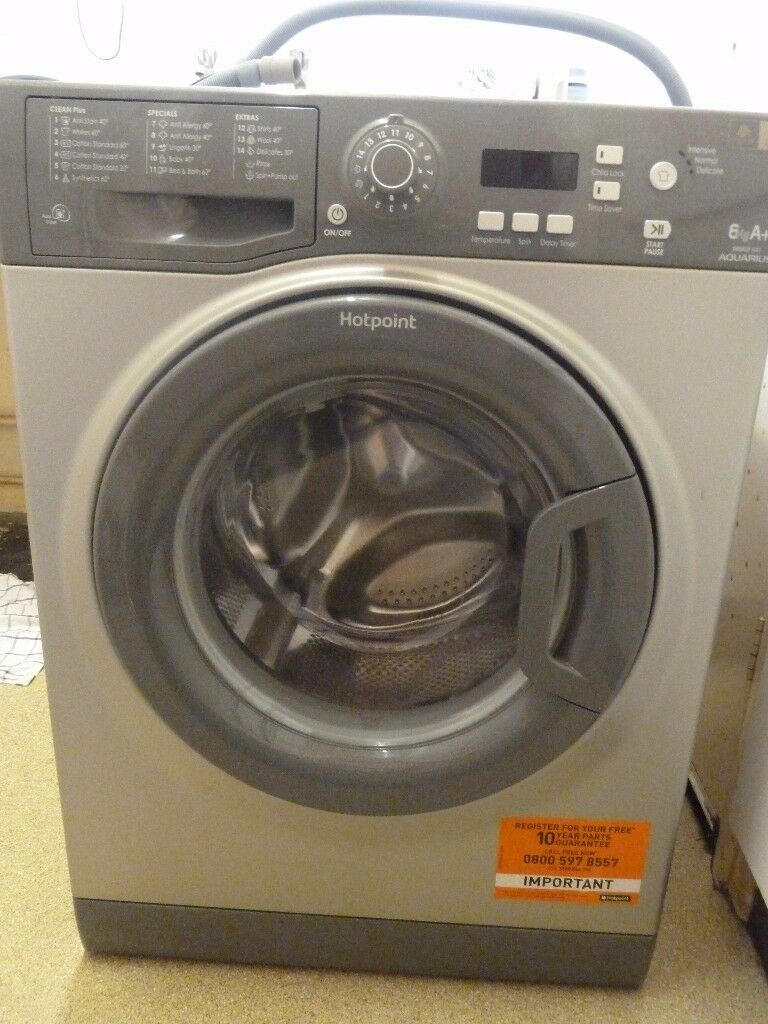 Hotpoint Aquarius washing machine WMAQF 6kg A rated excellent condition