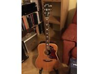 70s Gibson Hummingbird Custom acoustic guitar for under £1,000 NOW REDUCED
