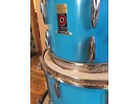 Blue premier drum kit