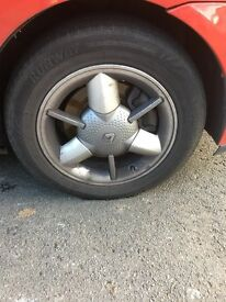 RENAULY CLIO ALLOYS 13 INCE