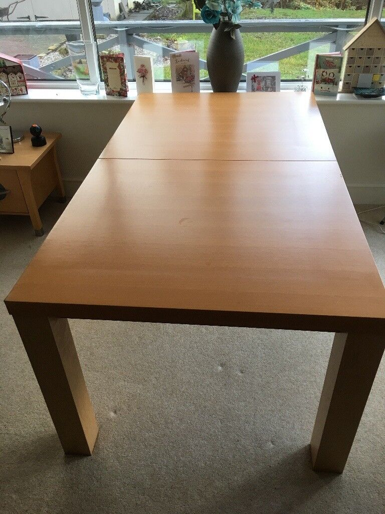 Awe Inspiring Large Dining Table And 6 Unmarked Upholstered Chairs For Sale In Chapel En Le Frith Derbyshire Gumtree Machost Co Dining Chair Design Ideas Machostcouk