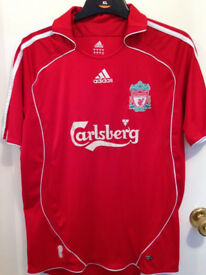Liverpool Football Shirt Adult Adidas Size Medium