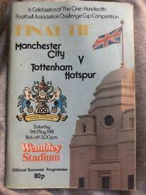 Official souvenir programme