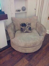 SCS panama Swivel chair