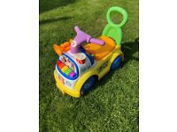 Fisher Price Musical Ride-On Car