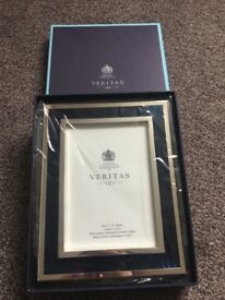Silver Plated Veritas Photo Frame