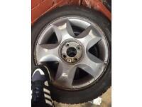 Mitsubishi Colt 2003-7 alloy wheels