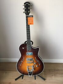 Taylor T3/B electric guitar with bigsby vibrato