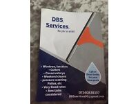 DBS services (WINDOWS,GUTTERS,FASCHIAS)