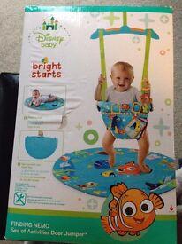 Bright Starts Finding Nemo sea of activities door jumper.