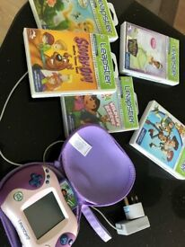 Leapfrog Leapster 2 learning Consule and Games