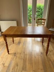 Extendable dining table - Pine