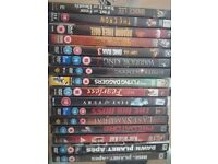 JOBLOT OF 16 MAINLY MARTIAL ARTS DVDS FOR ONLY £3