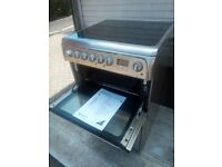 silver Hotpoint Electric cooker for sale free delivery 60 cm