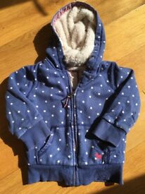 Boden Thick Girls Hoodie 2-3