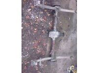 reliant b axle from rialto for tike build