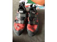 Boreal climbing shoes 8.5