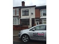 3 BEDROOM SEMI-£595PER MONTH-FLOYER ROAD-2 RECEPTION ROOMS-PERFECT FOR A FAMILY-UNFURNISHED-CALL NOW