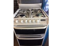 CANNON GAS COOKER 60cm WIDE DOUBLE OVEN WITH GRILL FREE DELIVERY AND WARRANTY