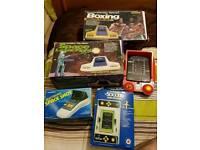 80's vintage handheld games.