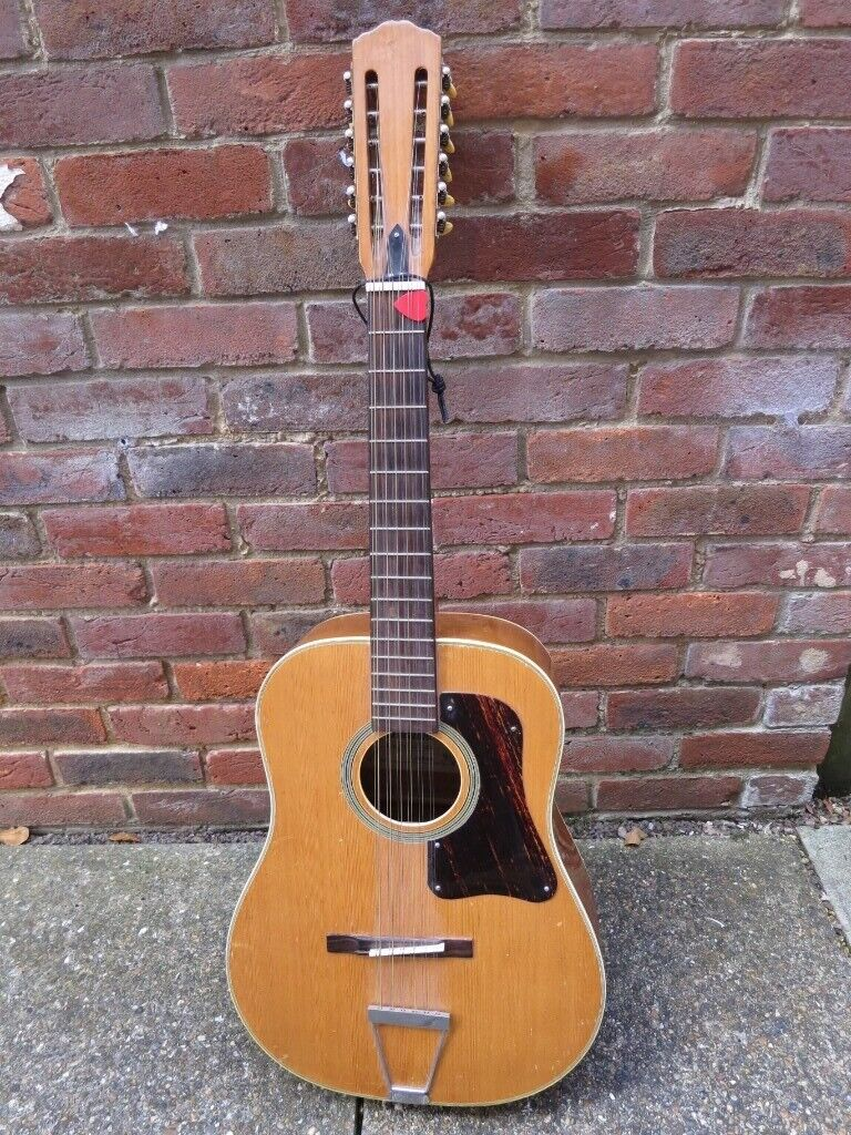 Sheltone 12 String Guitar With New Strings In Godalming Surrey Gumtree