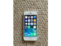 iPhone 5 in white/silver