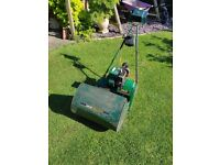Suffolk Punch petrol self-propelled cylinder mower