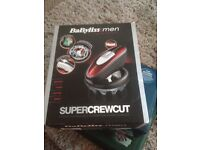 Babyliss super crewcut hair clippers